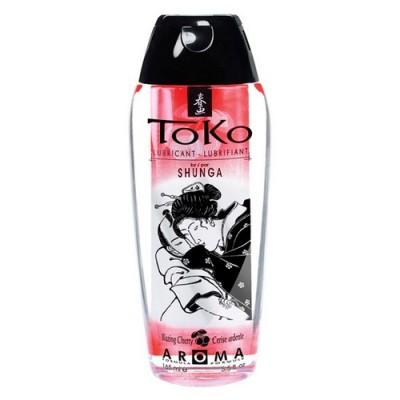 Lubrificante a base acquosa Shunga Toko Aroma alla ciliegia 165 ml