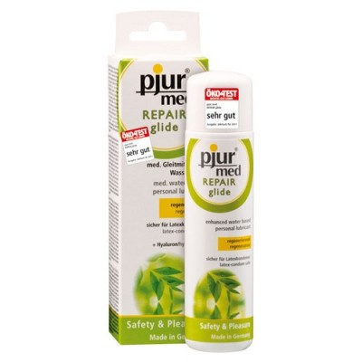Lubrificante a base di acqua con acido ialuronico Pjur MED Repair Glide 100 ml