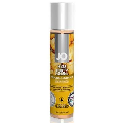 System JO - H2O Lubricante a base acqua aromatizzato all'ananas 30 ml