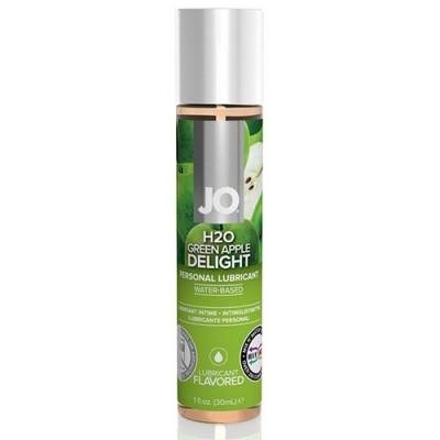 System JO - H2O Lubricante a base acqua aromatizzato alla mela verde  30 ml