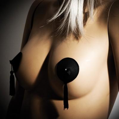 Copricapezzoli adesivi  Burlesque Pasties Black