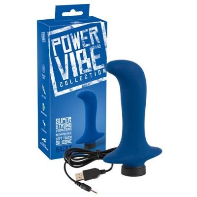 Stimolatore prostata ricaricabile Power Vibe Backy 13 cm