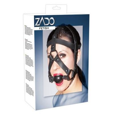 Head Harness - Maschera in cuoio con morso