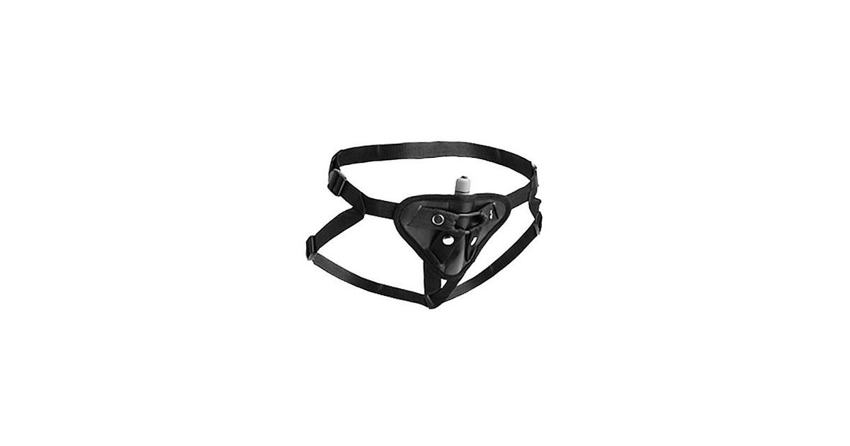 Sutra fleece lined Strap On Harness con tasca per vibratorino SOLO IMBRACATURA NO vibratore