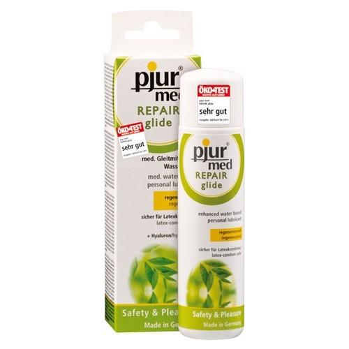 Lubrificante a base di acqua con acido ialuronico Pjur MED Repair Glide 100 ml