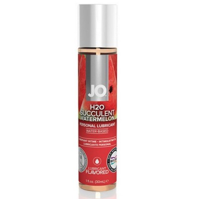 System JO - H2O Lubricante a base acqua aromatizzato all'anguria 30 ml
