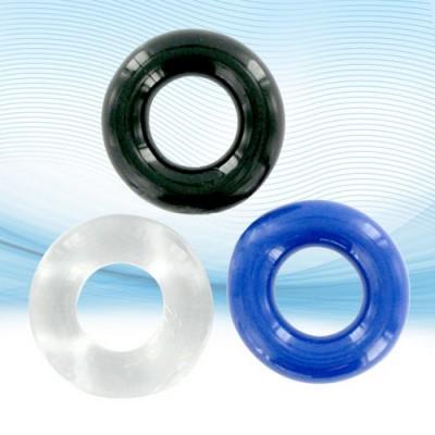 Set di 3 anelli per il pene molto elastici e resistenti