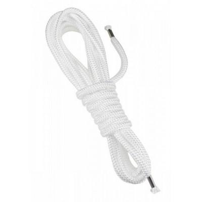 Corda 100% nylon per  Soft bondage lunghezza 5 metri colore bianco