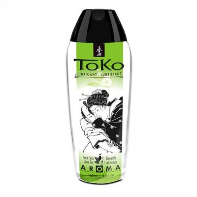 Lubrificante a base acquosa Shunga Toko Aroma gusto tè verde e pera 165 ml