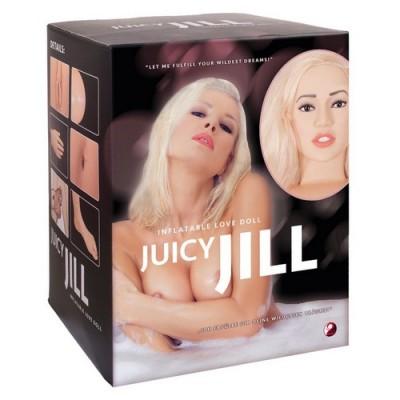 Bambola gonfiabile con morbido masturbatore Juicy Jill