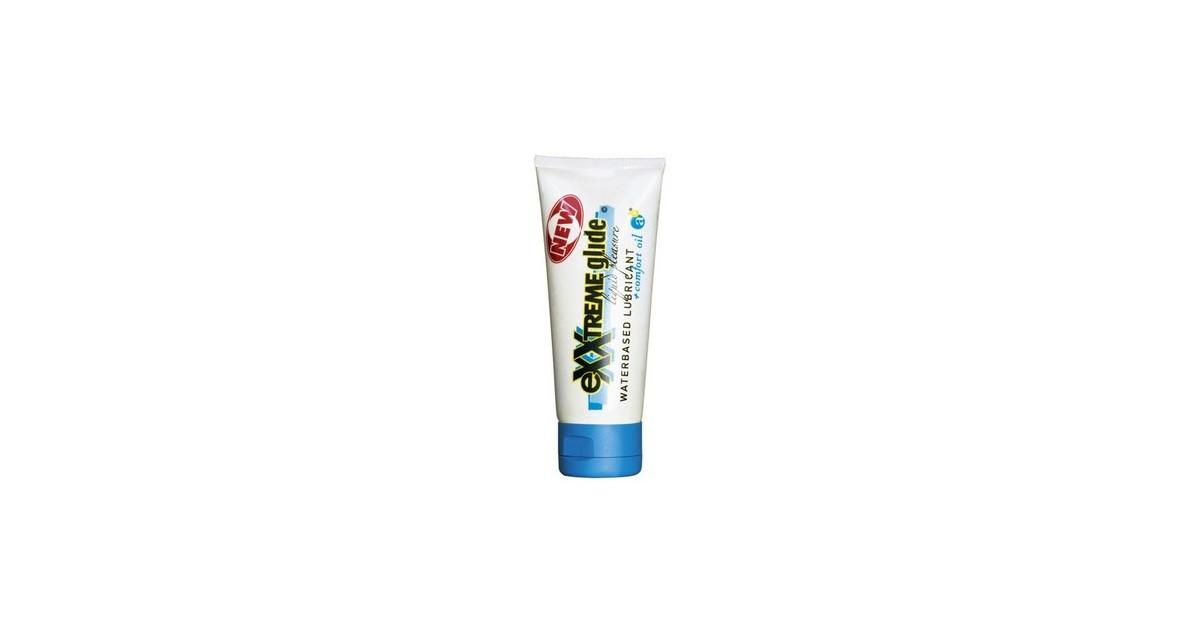 Lubrificante a base acquosa + comfort oil - HOT eXXtreme Glide 100ml