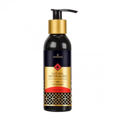 Sensuva - Lubrificante intimo naturale a base acqua gusto fragola 125 ml
