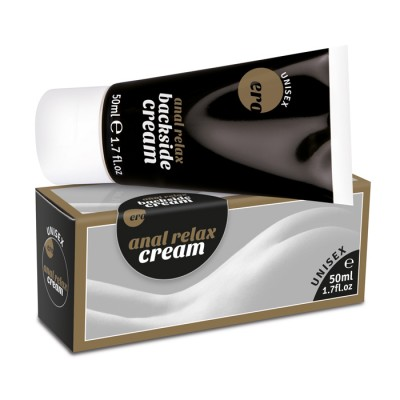 Crema Anale Relax Backside Cream Rilassamento Ano formato 50 ml