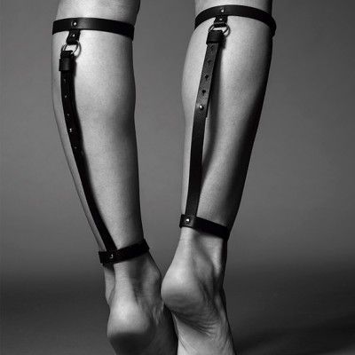 Cavigliera BACK LEG GARTER BLACK
