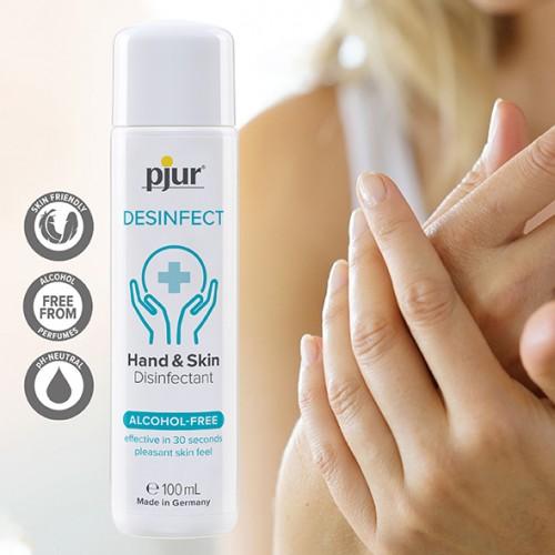 Disinfettante per Mani e Corpo Pjur Desinfect 100 ml