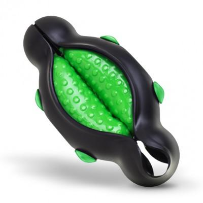 H2O Masturbatore, simulatore sesso orale, colore verde/nero con Superficie Stimolante