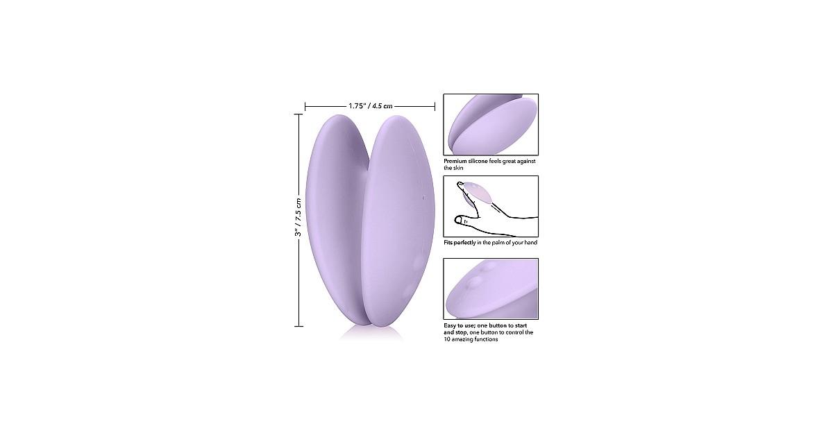 Massaggiatore Clitorideo Palmare Ricaricabile  Viola