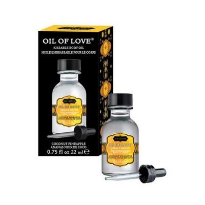 liquido stimolante baciabile per zone erogene gusto cocco e ananas 22 ml