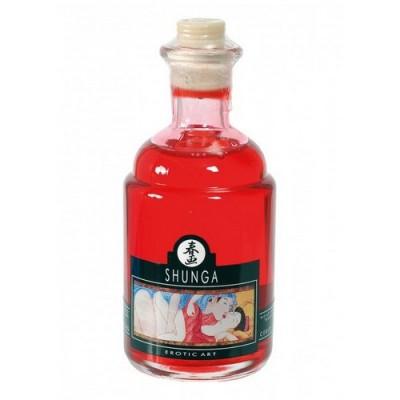 Olio massaggi commestibile Shunga Aphrodisiac Oil gusto ciliegia 100 ml