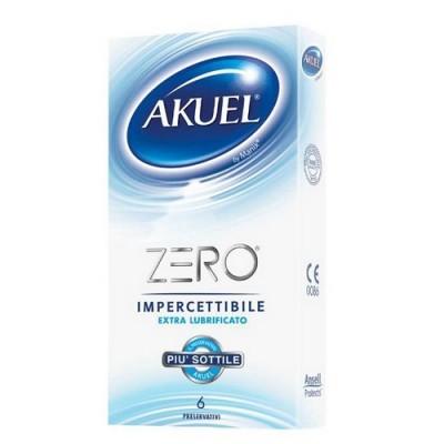 Preservativi AKUEL ZERO 52 mm 6 pezzi
