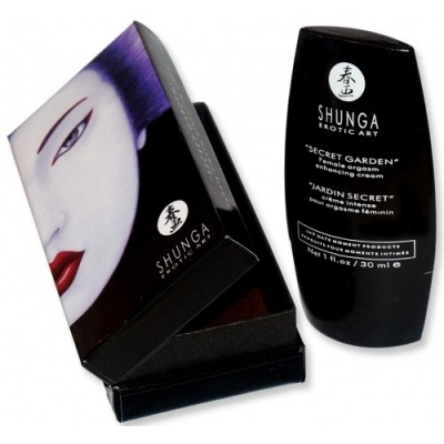 Crema stimolante femminile Shunga secret garden 30 ml