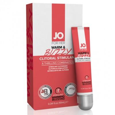 Lubrificante Stimolante per il Clitoride Warm & Buzzy 10 ml