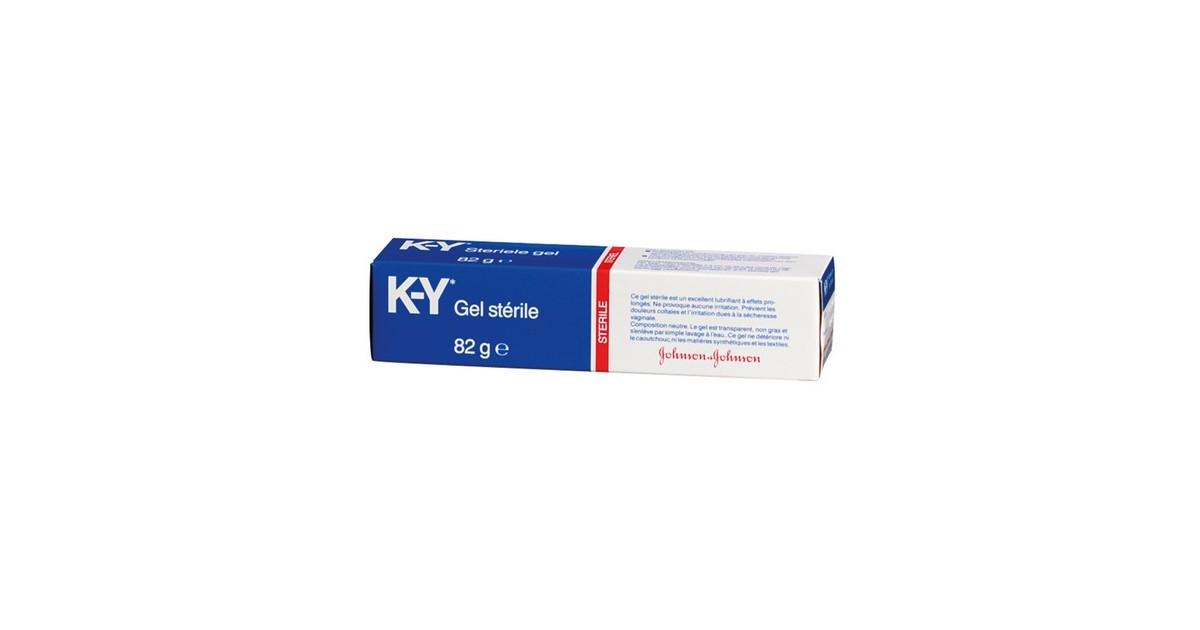 lubrificante gel KY a base d'acqua K-Y CREAM 82 GR