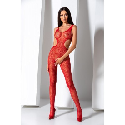 BS085 Bodystocking Rosso