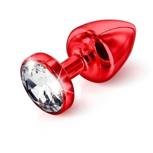 Plug Swarovski in Alluminio Rosso 25mm