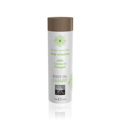 Luxury Olio Massaggi Commestibile Coconut Pineapple 75 ml