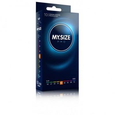 NEW MY SIZE PRO - preservativi grandissimi 57 mm nominali - 10 pezzi