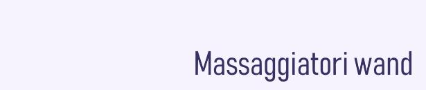 massaggiatori magic wand
