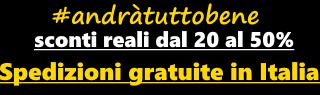 Spedizione gratuita in Italia già con 20 euro di spesa!!